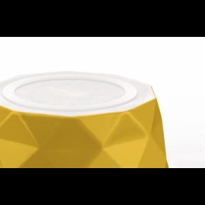 Kép 3/7 - Hunter Eiby kerámia kutyatál sárga - 1100 ml