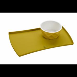 Kép 5/7 - Hunter Eiby kerámia kutyatál sárga - 1100 ml