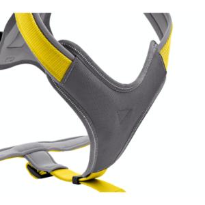 Kép 2/2 - Hunter Neoprén sárga hám XS