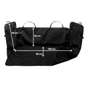 Kép 2/2 - Hunter Védőhuzat csomagtartóba - Fekete