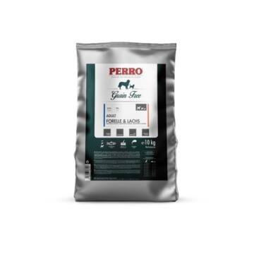 PERRO Grain Free Adult Pisztráng & Lazac kutyatáp minta